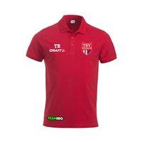 TSV Großwaltersdorf Poloshirt Junior rot